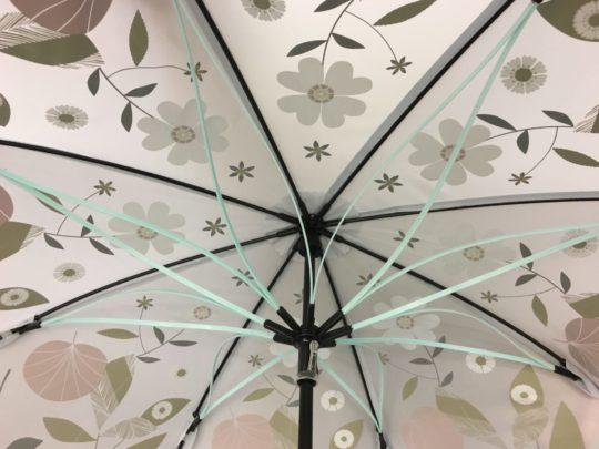 内側がかわいい傘