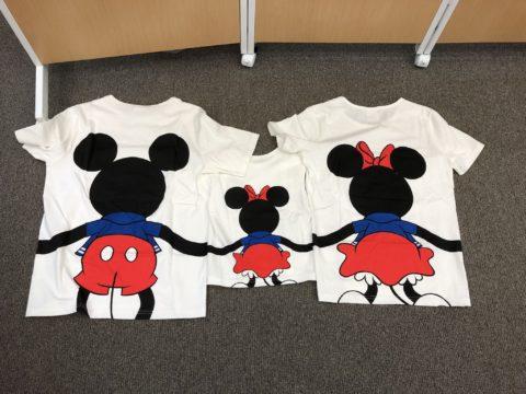 ミッキー白Tシャツ