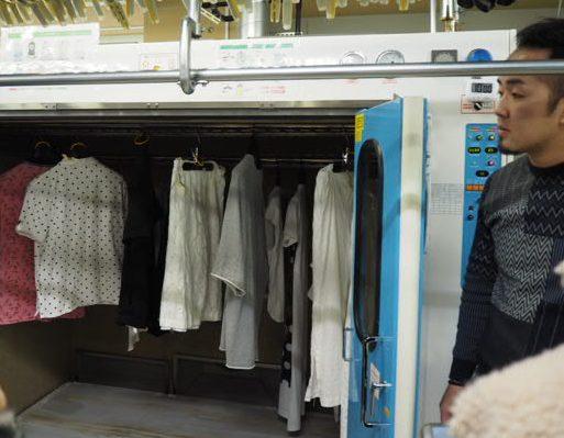 宅配クリーニングリナビス 宅配クリーニング『リナビス』乾燥機1